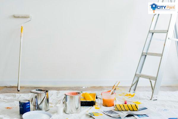 Có nên sơn nội thất màu trắng sứ không